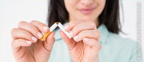 2018 mit dem Rauchen aufhören, © wavebreakmedia/Shutterstock