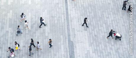 Bewegungsmangel globales Problem, © ultramansk/Shutterstock.com