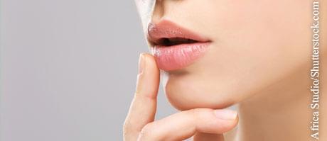 Lippenherpes selbst behandeln, © Artem Furman/Shutterstock.com