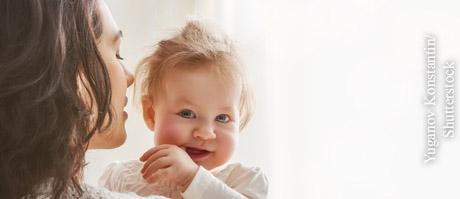 Mit Babys altersgemäß sprechen, © Yuganov Konstantin/Shutterstock