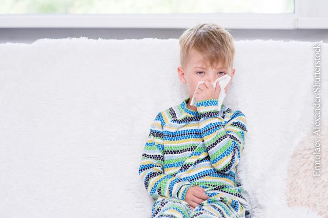 Bei Kindern tritt Fieber oft im Rahmen eines Infekts auf.