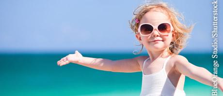 Sonnenschutz f�r Kinder