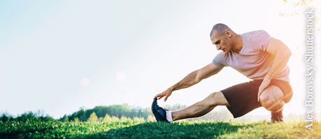 Wadenkrämpfen vorbeugen, © Alex Borovsky/Shutterstock.com