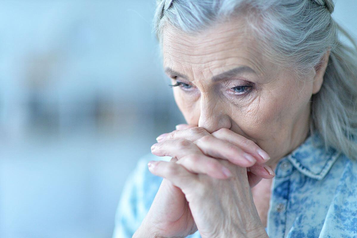 Unterschätzt: Depression im Alter, © Ruslan Huzau/Shutterstock.com