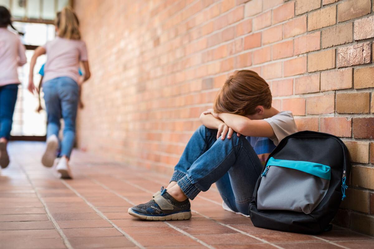 Jedes 4. Kind unter 11 wird von anderen gemobbt.