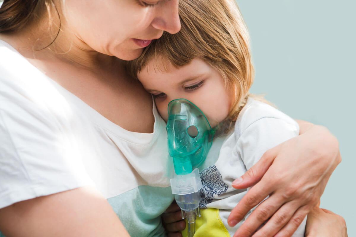 Jedes vierte Kind leidet an einer Allergie, viele von ihnen an allergischem Asthma.