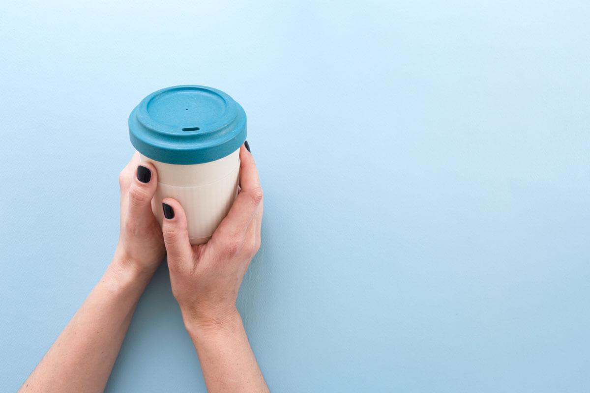Beliebt bei Kaffeetrinkern: Der Bambusbecher.