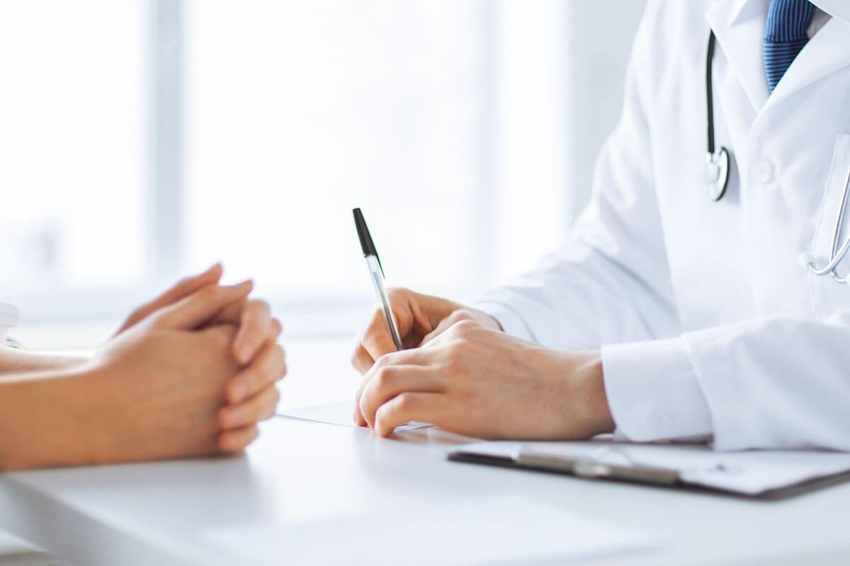 Effektive Kommunikation im Arztgespräch.