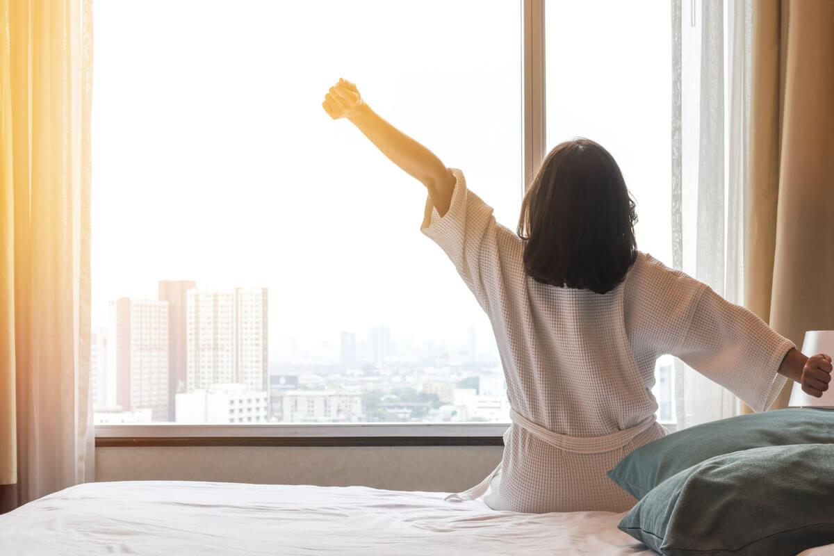 Guter Schlaf, fitte Arterien, © Chinnapong/Shutterstock.com