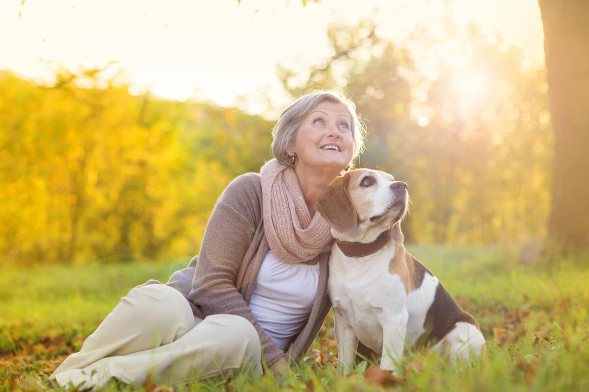 Hundebesitzer leben länger, © Halfpoint/Shutterstock.com