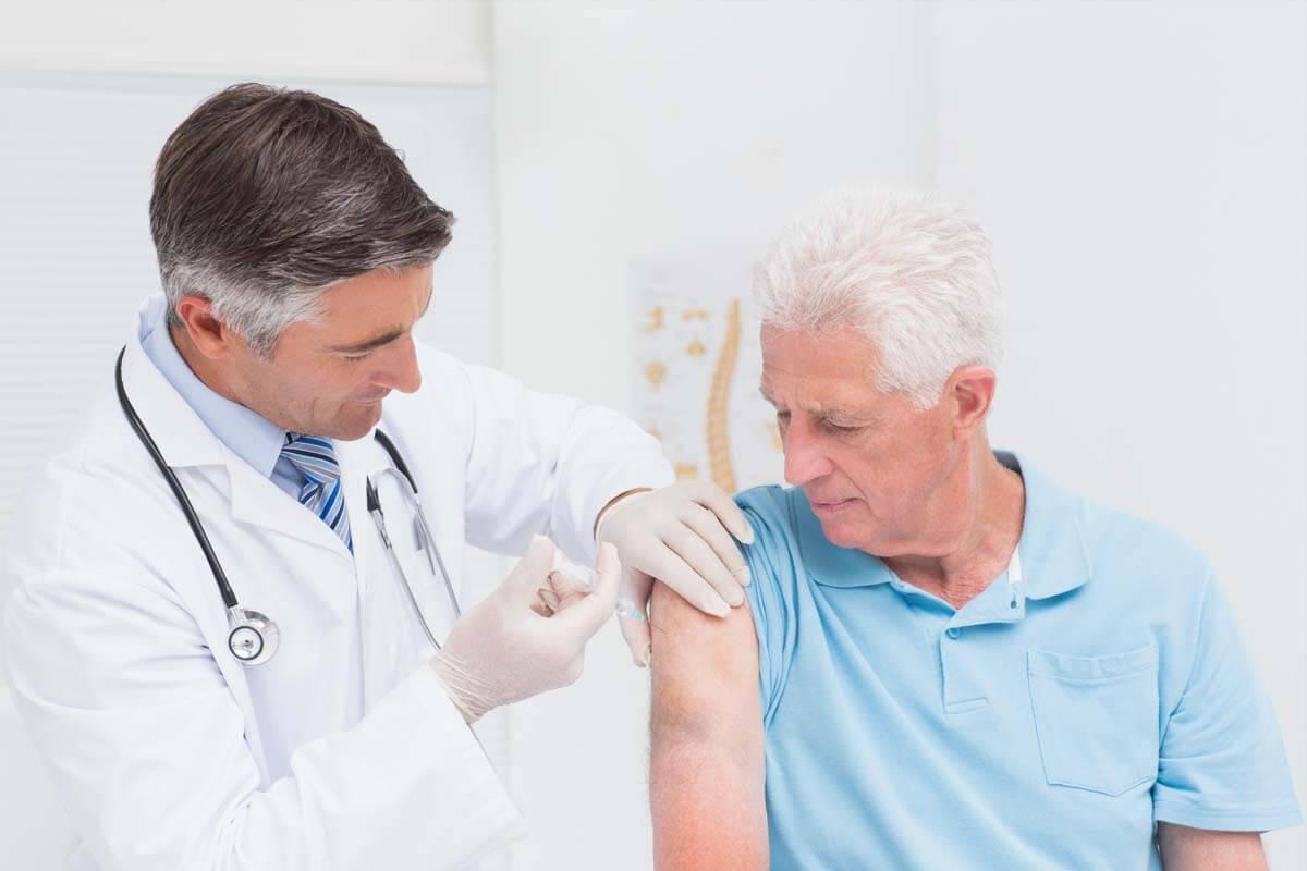 Impfung gegen Gürtelrose, © wavebreakmedia/Shutterstock.com