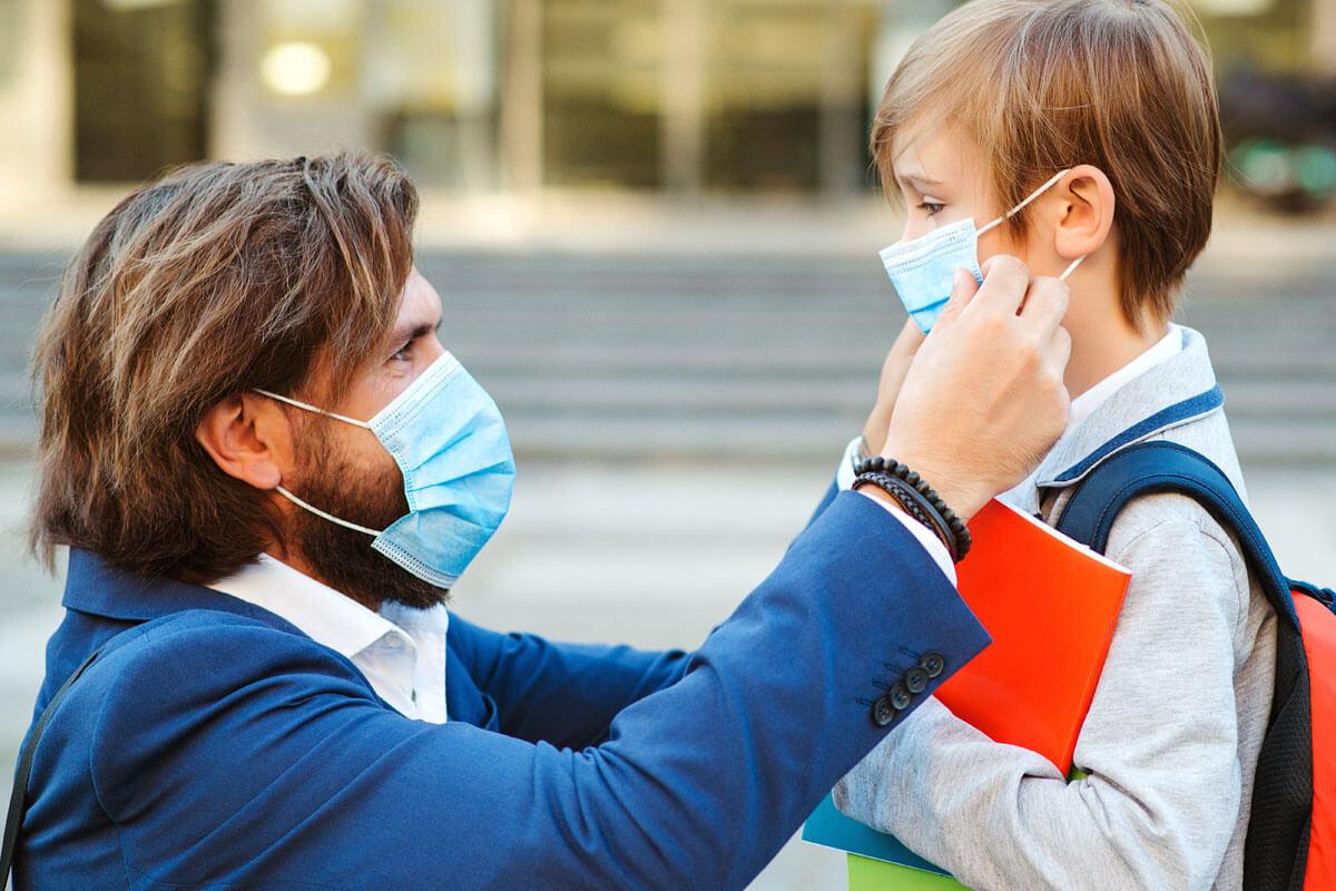 Erkennen Kinder Gefühle trotz Maske?, © Volurol/Shutterstock.com