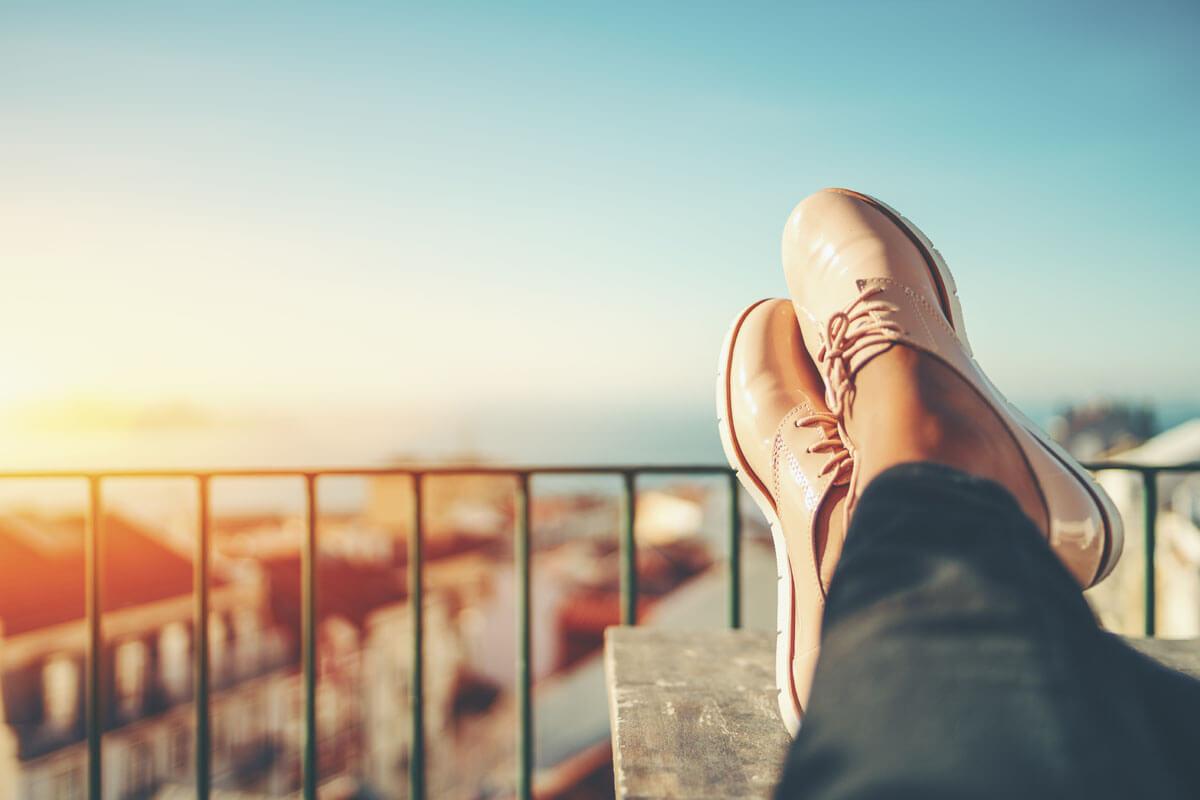 Mit Schuheinlage gegen Fußgeschwüre, © skyNext/Shutterstock.com