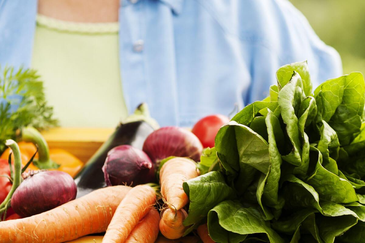 Pflanzenkost ist in vielerlei Hinsicht gesund.