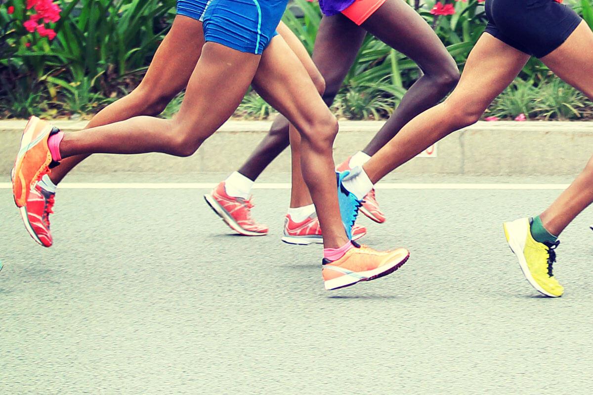 Schadet Marathonlaufen dem Knie?, © Izf/Shutterstock.com