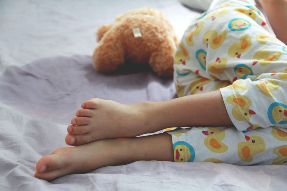 Schluss mit Einnässen, © Mama belle and the kids/Shutterstock.com