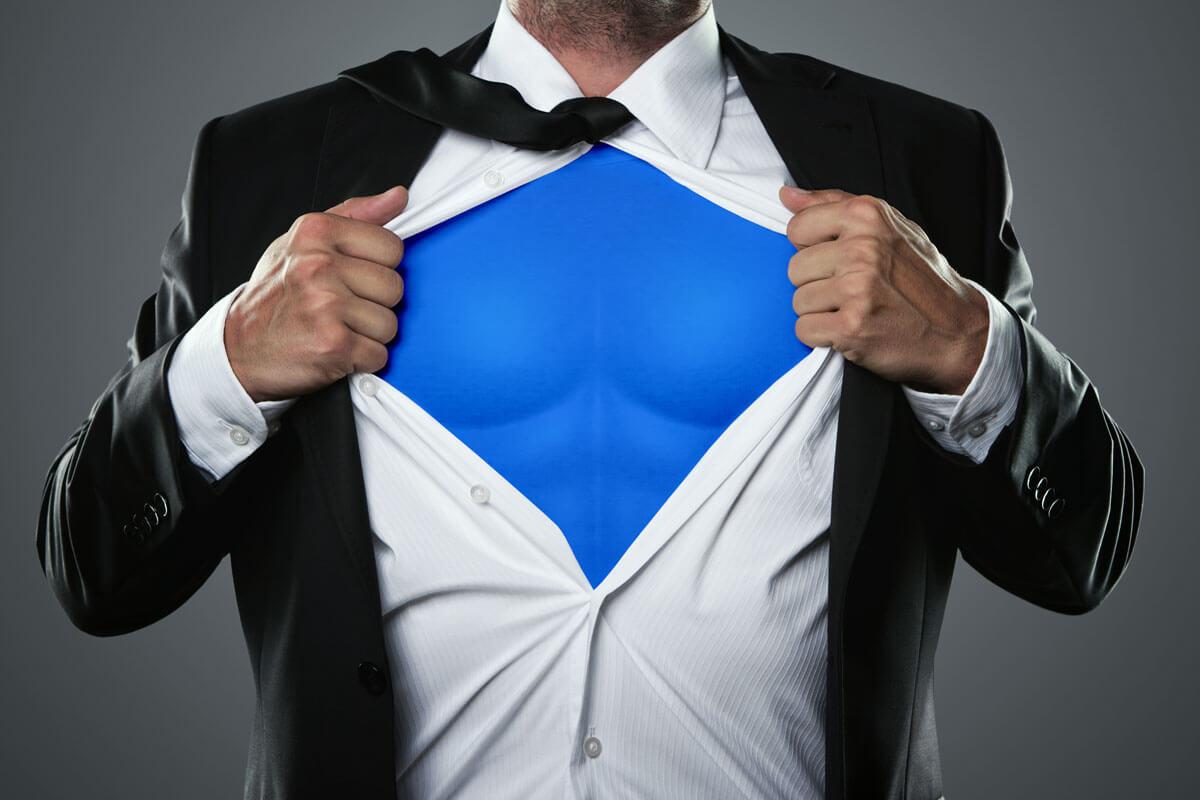 Superman hilft schon beim Anschauen, © rangizzz/Shutterstock.com