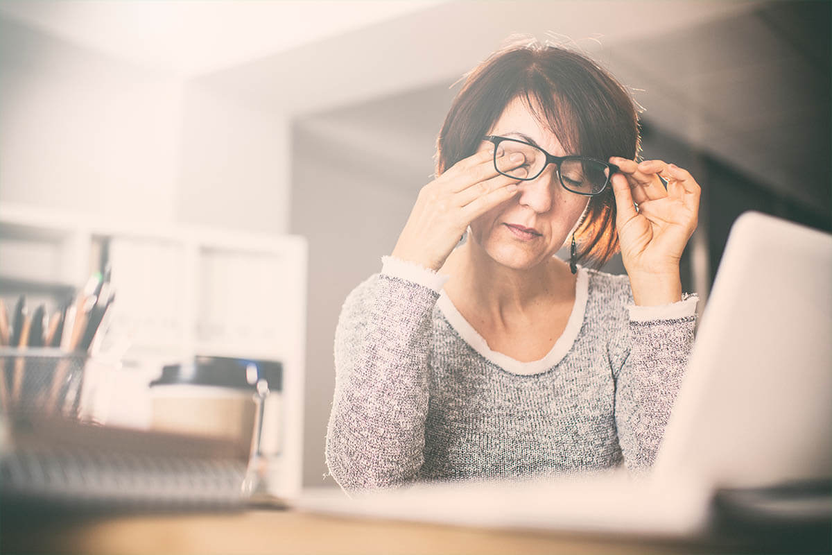 Tipps gegen müde Bildschirmaugen, © sebra/Shutterstock.com