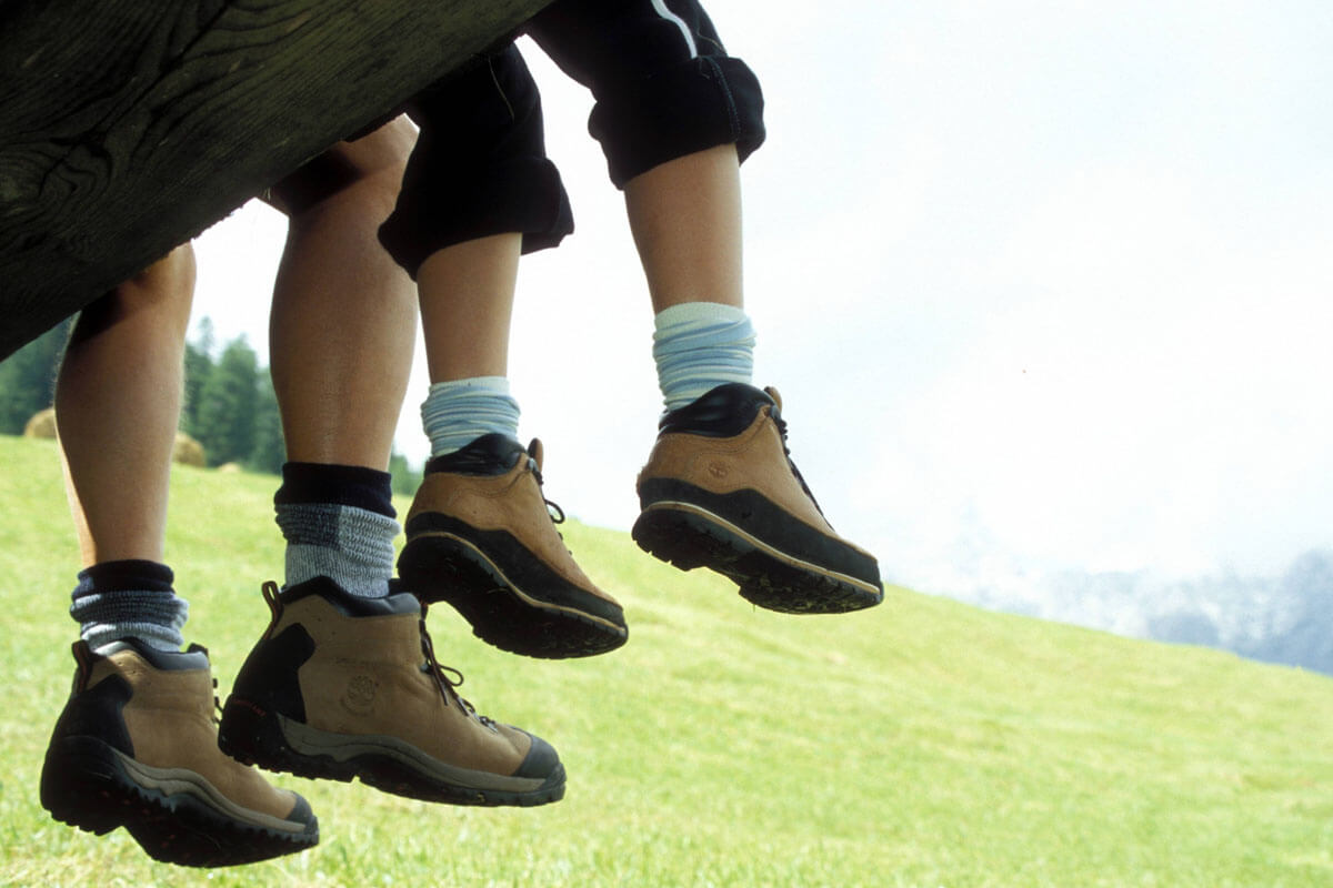 Tipps fürs Bergwandern mit Kindern, © Sabine Stallmann/imago-images.de